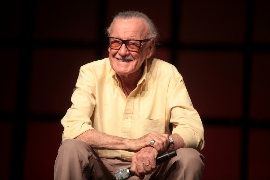 Stan Lee - Marvel co-author.