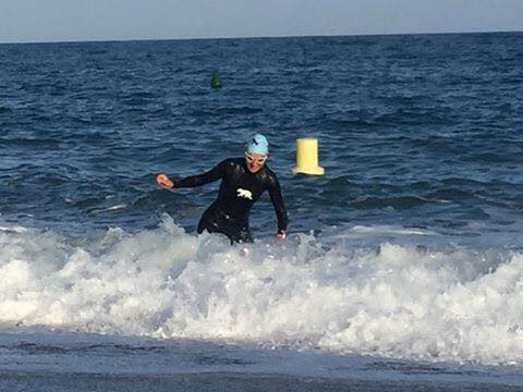 ironman training anna bastek sea