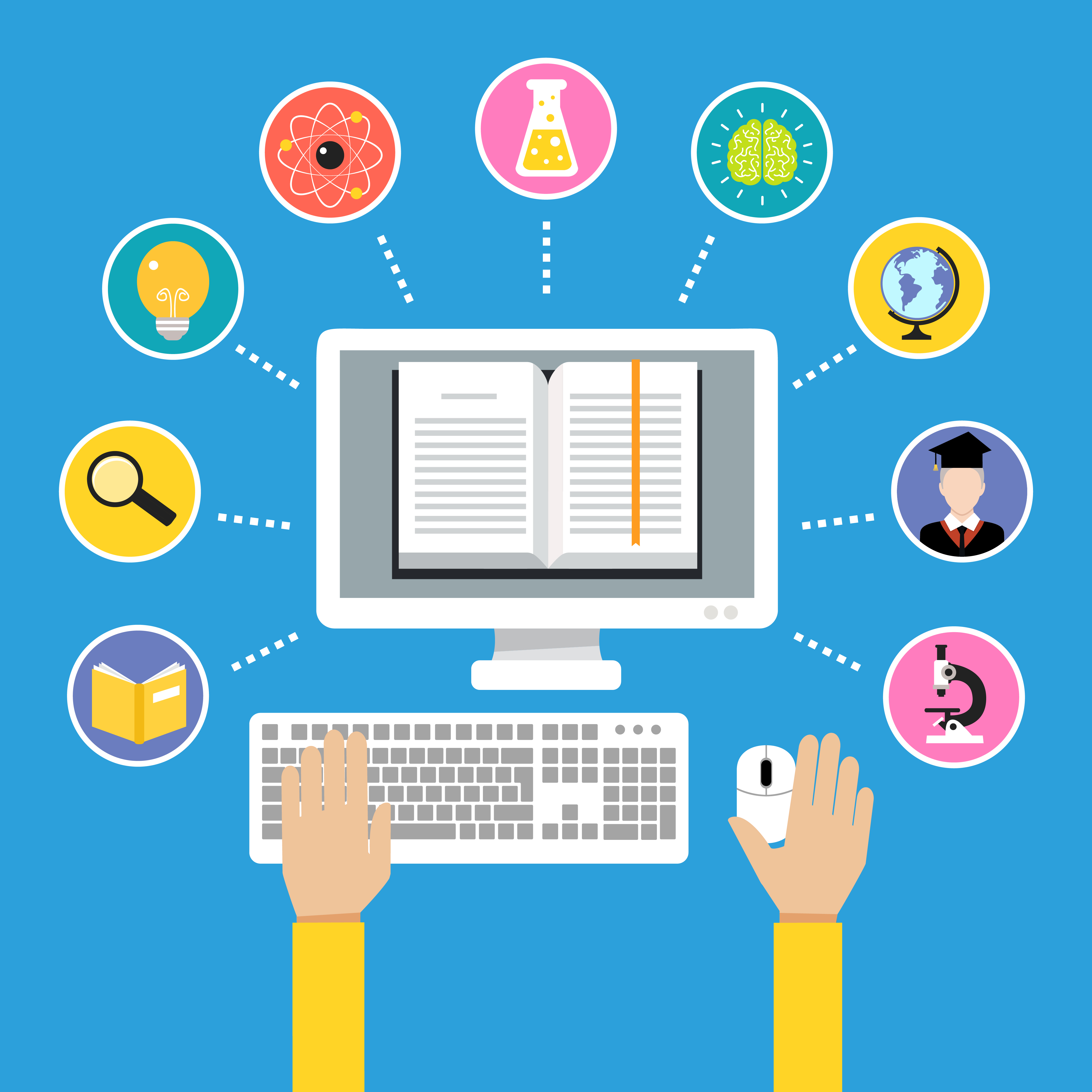 Virtual writing internships