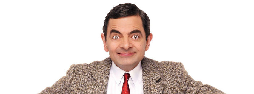 Picture of legendary figure of humour, Mr Bean
