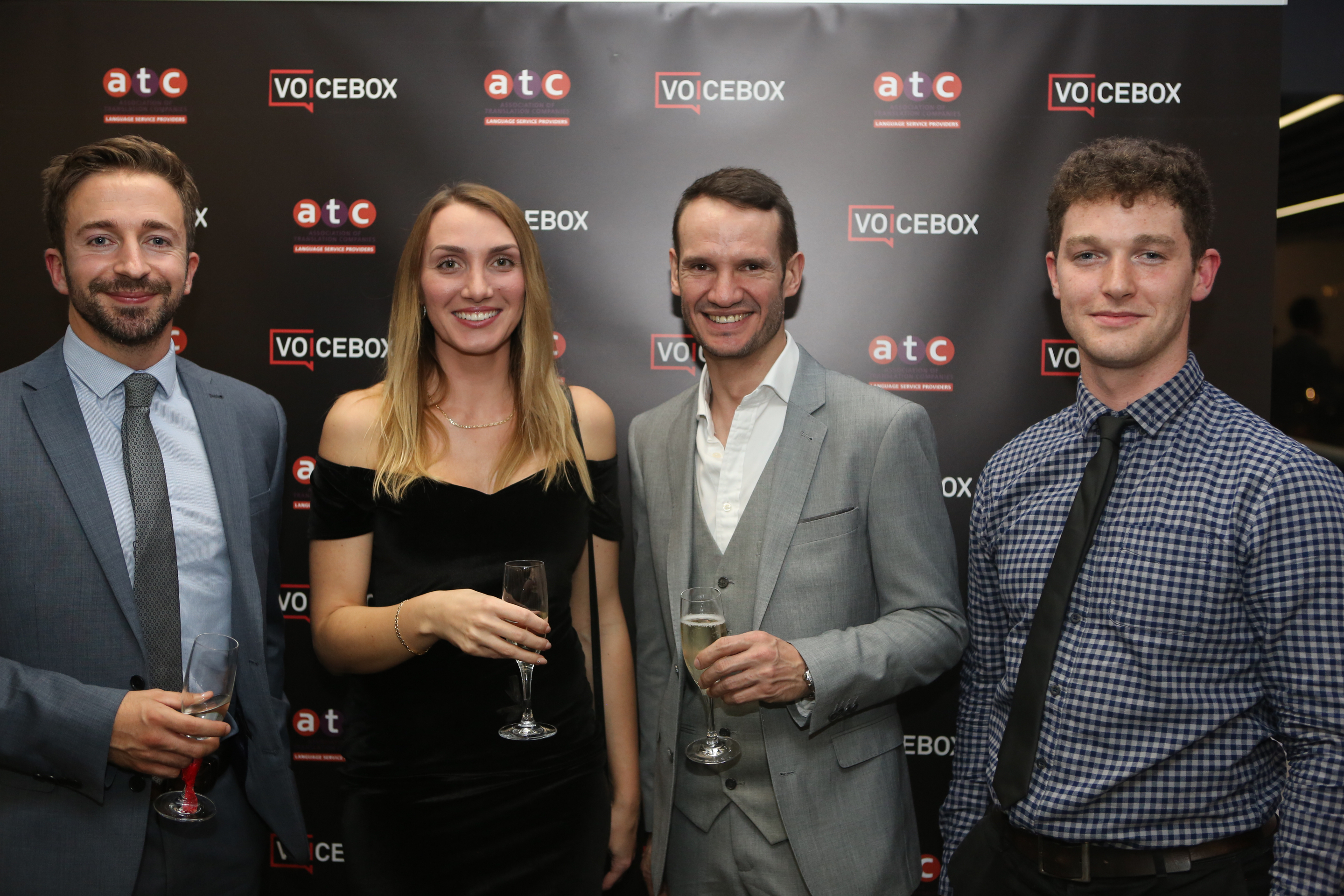 Ben, Magda, Roy and Anthony at the ATC Summit in London