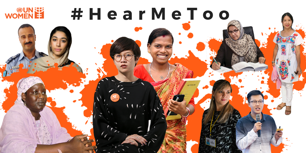 Women From Across the World #HearMeToo