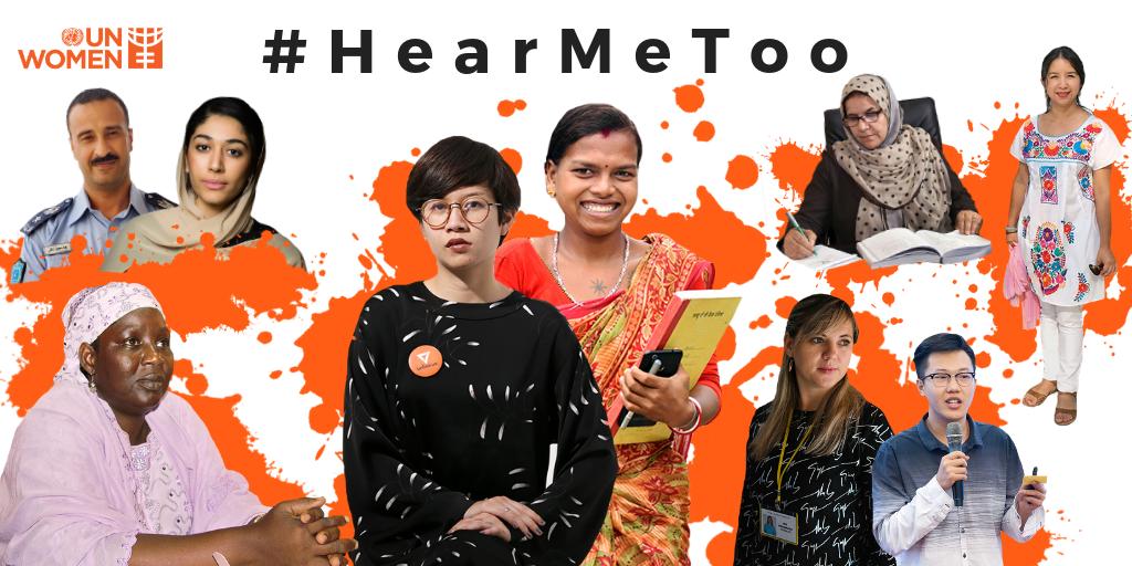 Women From Across the World #HearMeToo