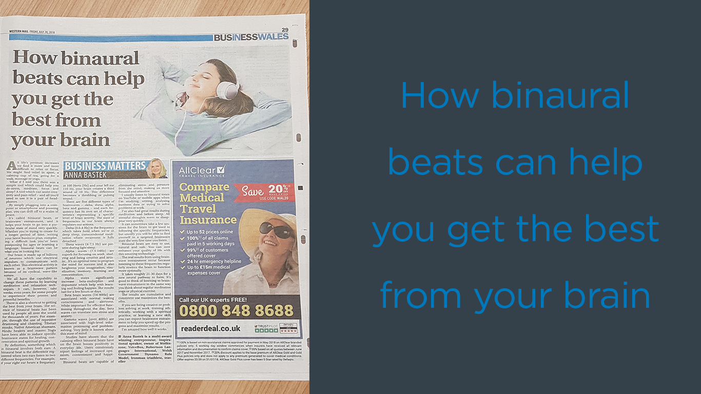 How binaural beats can help you get the best from your brain