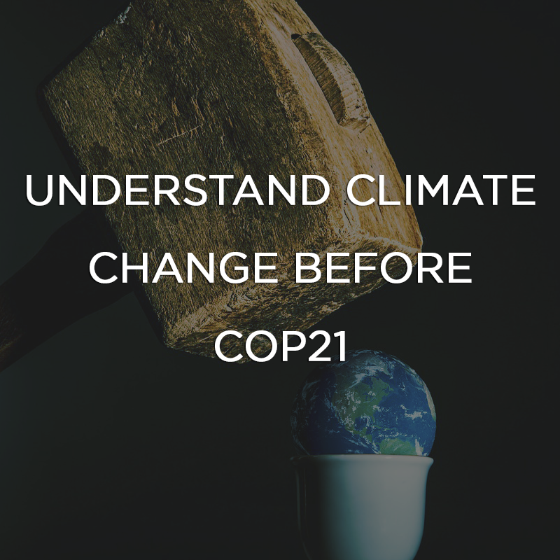 Understand Climate Change Before COP21