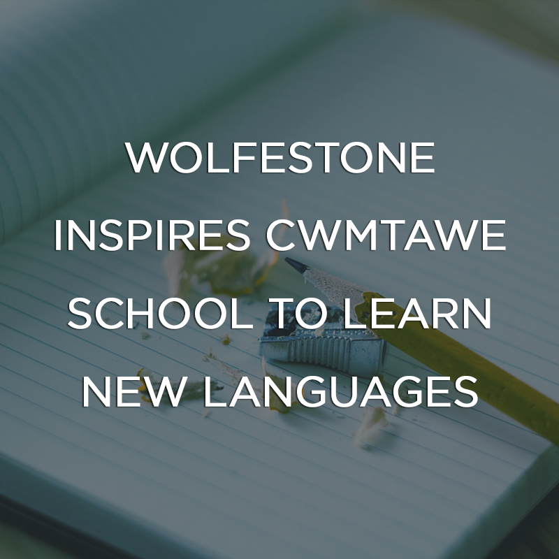 Wolfestone inspires Cwmtawe School to Learn Languages