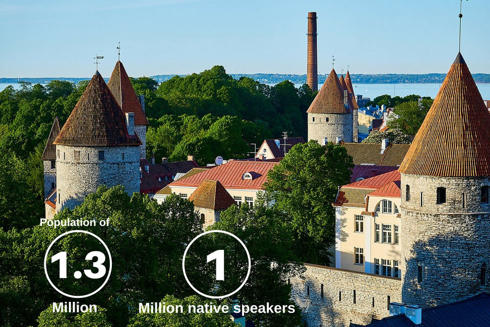 Stats about the Estonian language which highlight the need for Estonian translation services