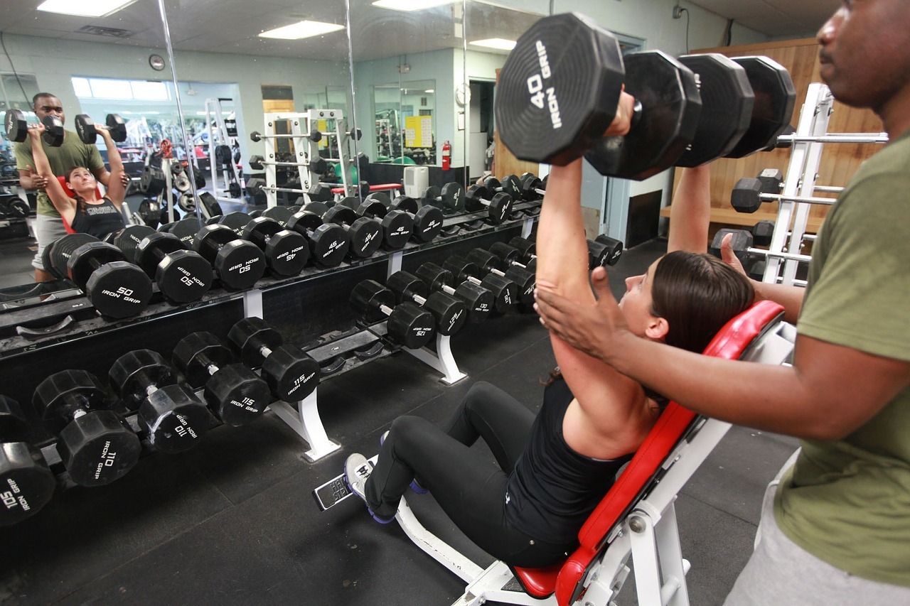 Gyms are a situation to exploit to practice your foreign language skills