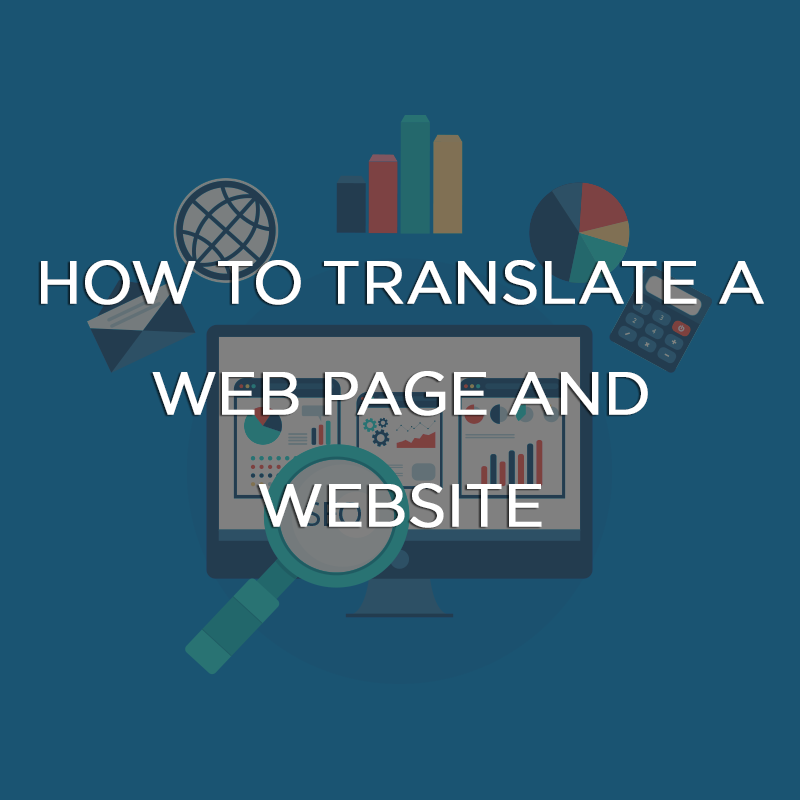 How to Translate a Web Page and Website featured image