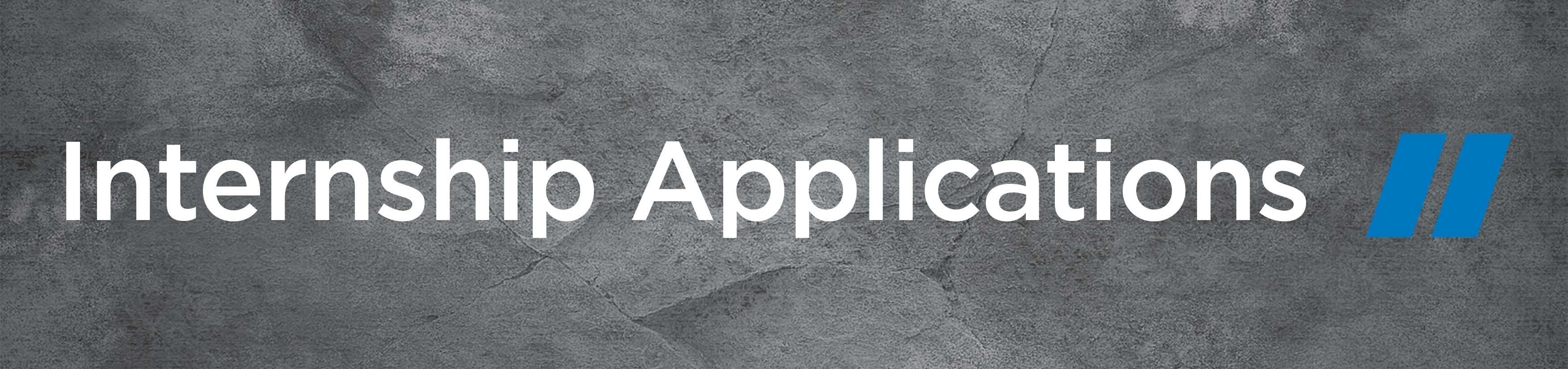 Internship Applications