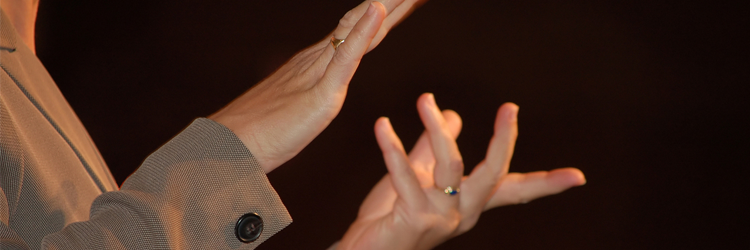 Interpreter: American Sign Language