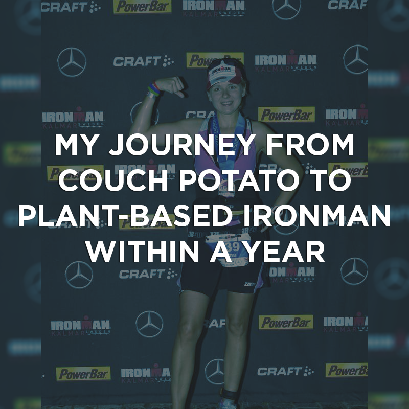 My Journey from Couch Potato to Plant-Based Ironman within a Year