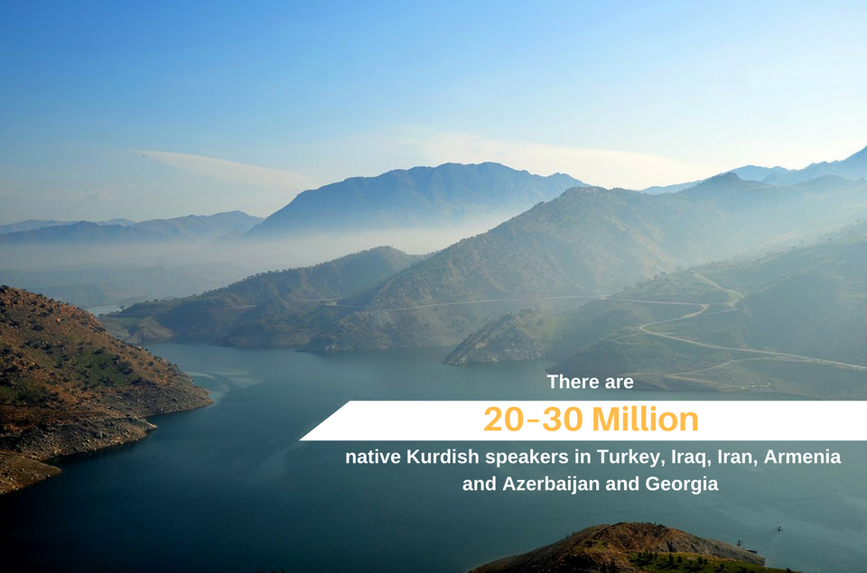 Stats about the Kurdish language which explain the need for Kurdish translation services.