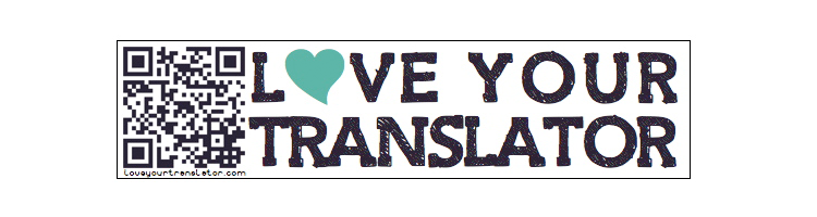 Love Your Translator Sticker