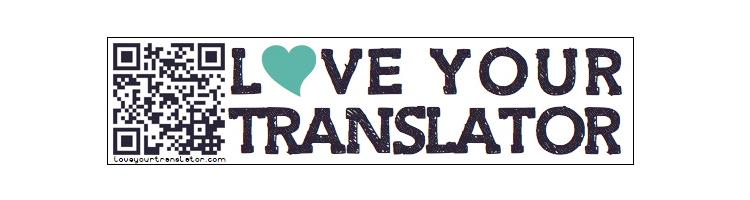 Love Your Translator Sticker