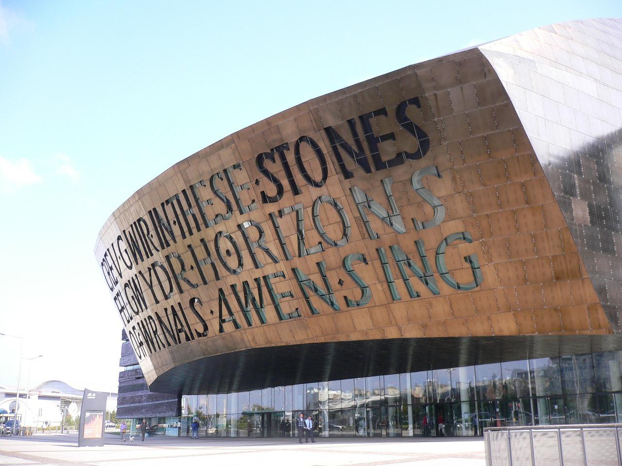 Millennium centre in Cardiff