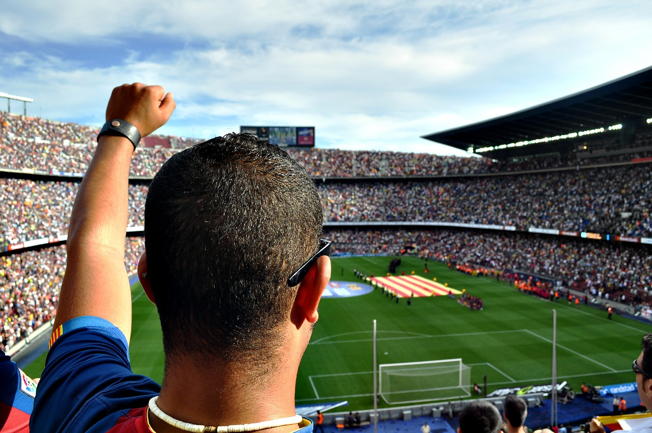 Stadiums, sport and events are a situation to exploit to practice your foreign language skills
