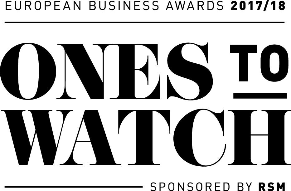 European Business Awards Logo: Ones To Watch