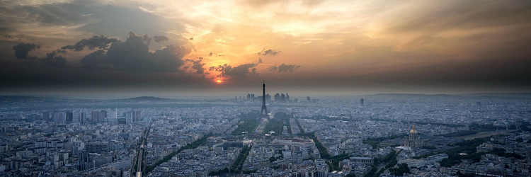 Sunset over Paris - French Culture