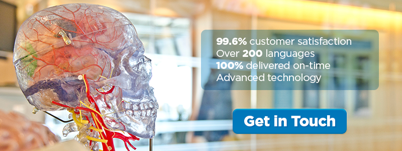 99.6% customer satisfaction, over 200 languages, 100% delivered on-time, advanced technology. Get in touch.