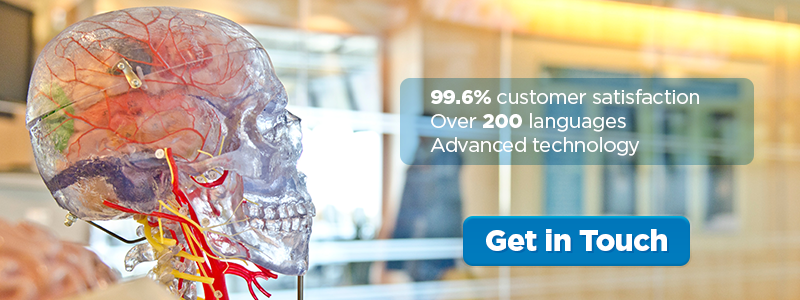 99.6% customer satisfaction, over 200 languages, 100% delivered on time, advanced technology. Get in touch.