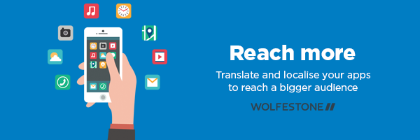 Reach more people by translating and localising your apps - thanks to Freepik.com for the use of the vector