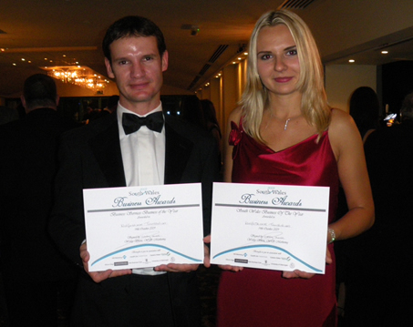 Roy and Anna award winners 2009