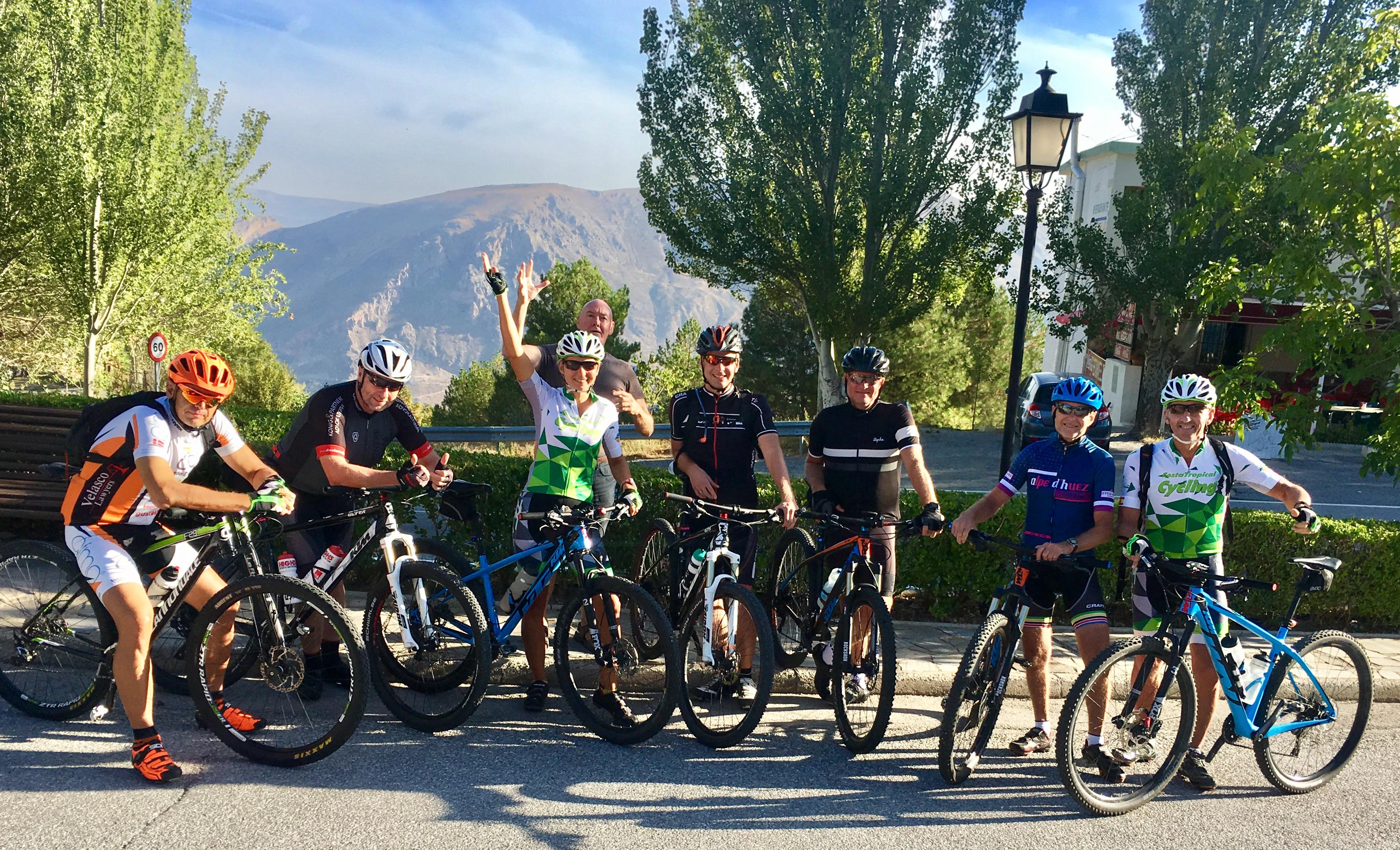 Anna Bastek cycling