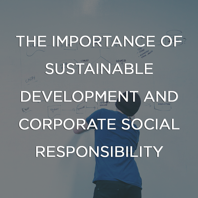 The importance of sustainable development and corporate social responsibility