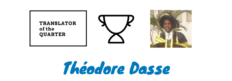 Théodore Dasse is Wolfestone's translator of the quarter