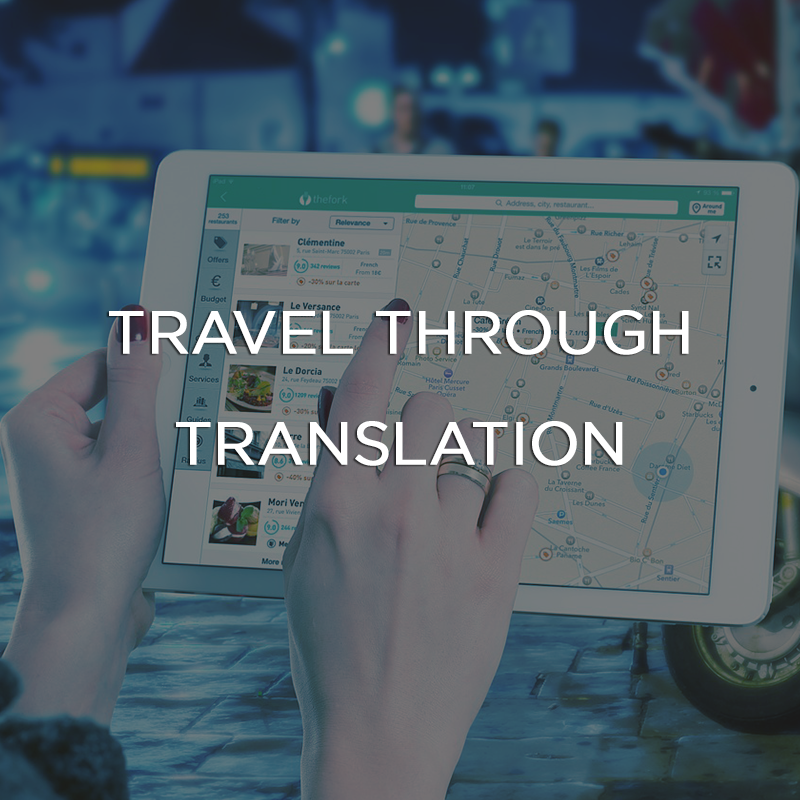 Travel through Translation