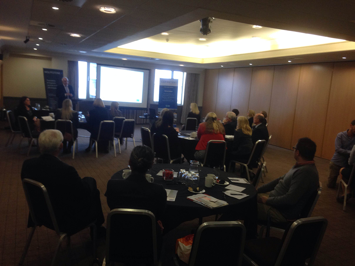 Attendance at the Wales Exporters Association event in Swansea