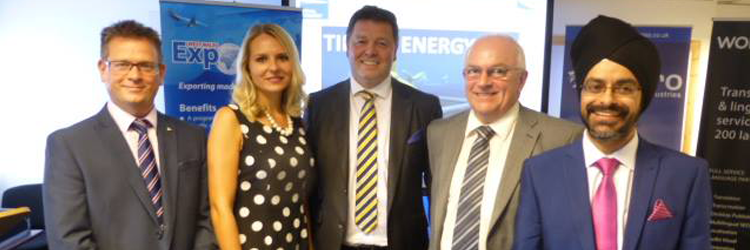 West Wales Exporters Association Event held at Hydro Industries