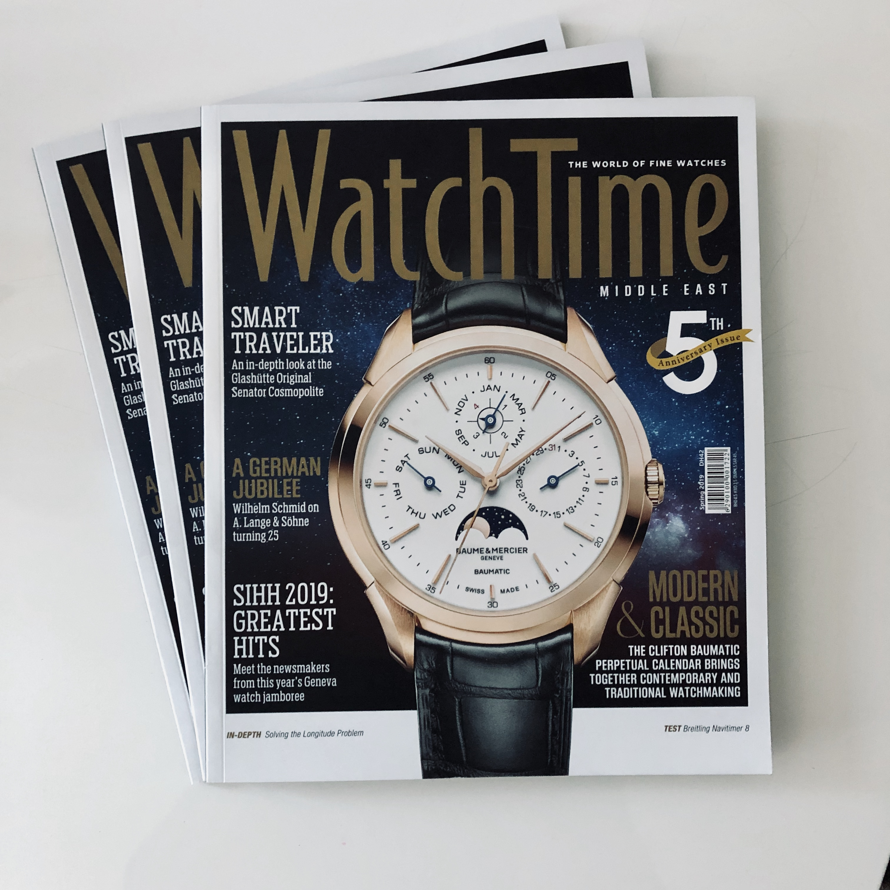 Middle East edition of Watch Time magazine