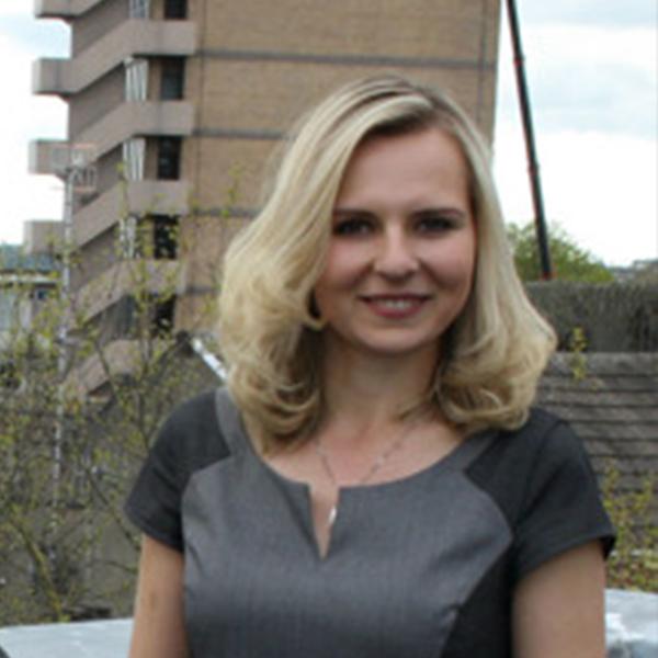 Anna Bastek at the BBC