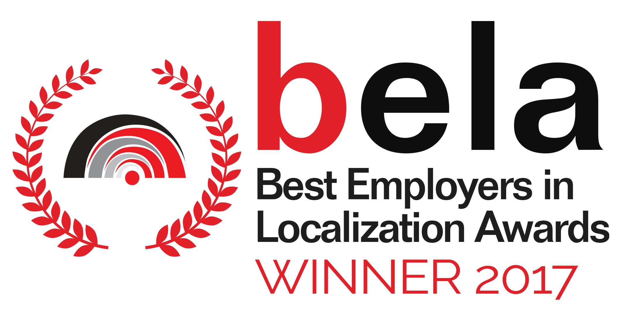 best employer in localization winner