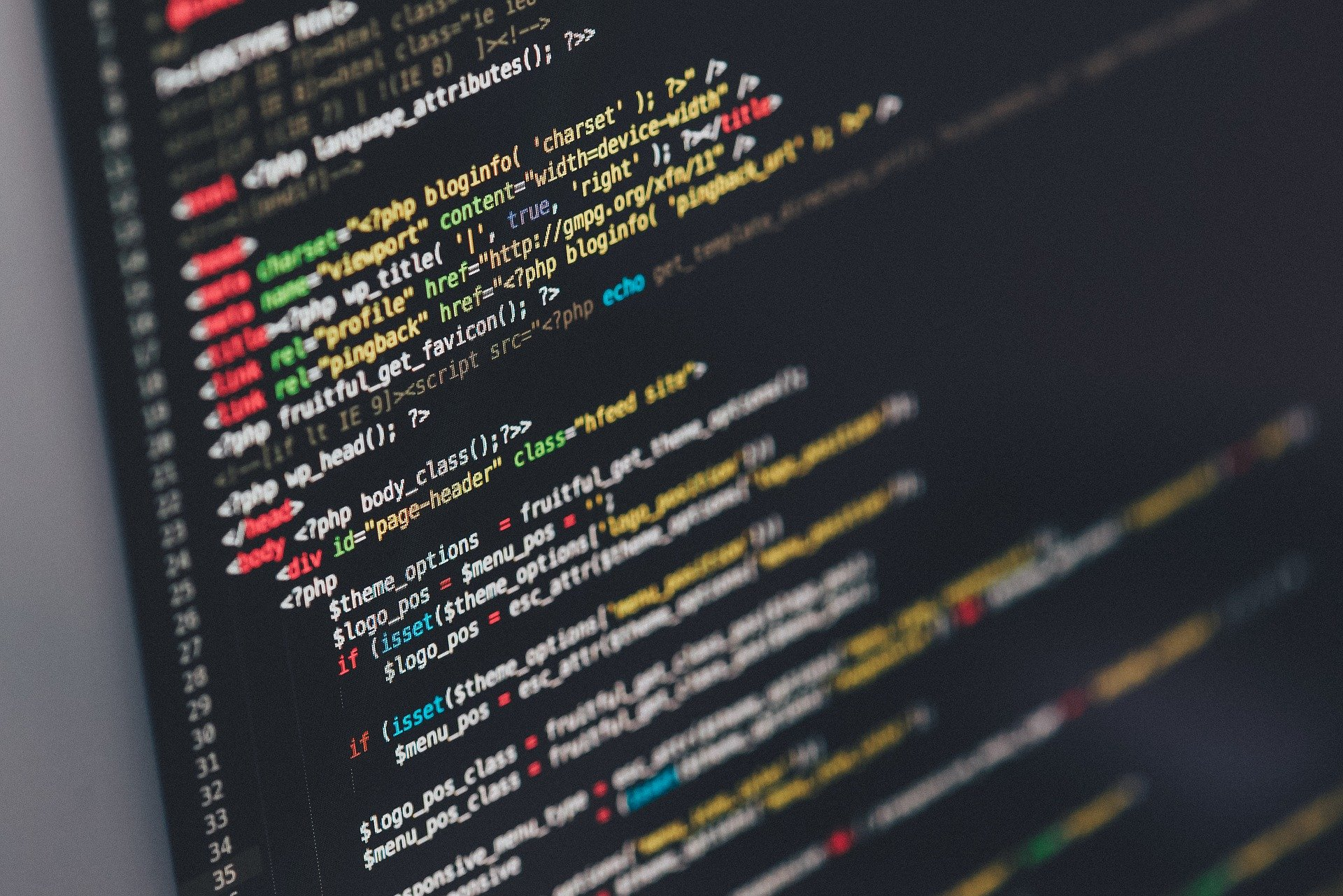 a piece of code on a computer - the language services industry will utilise new technology in 2020.