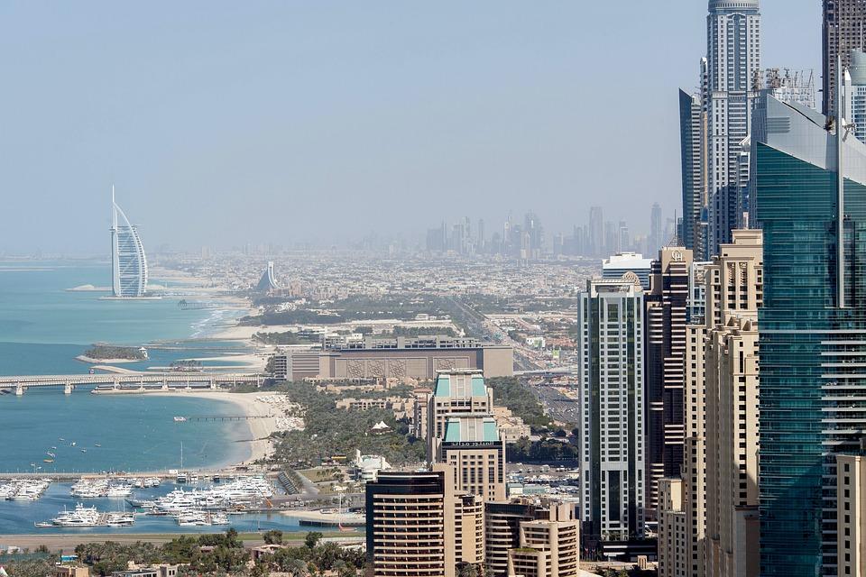 View from Dubai's media city