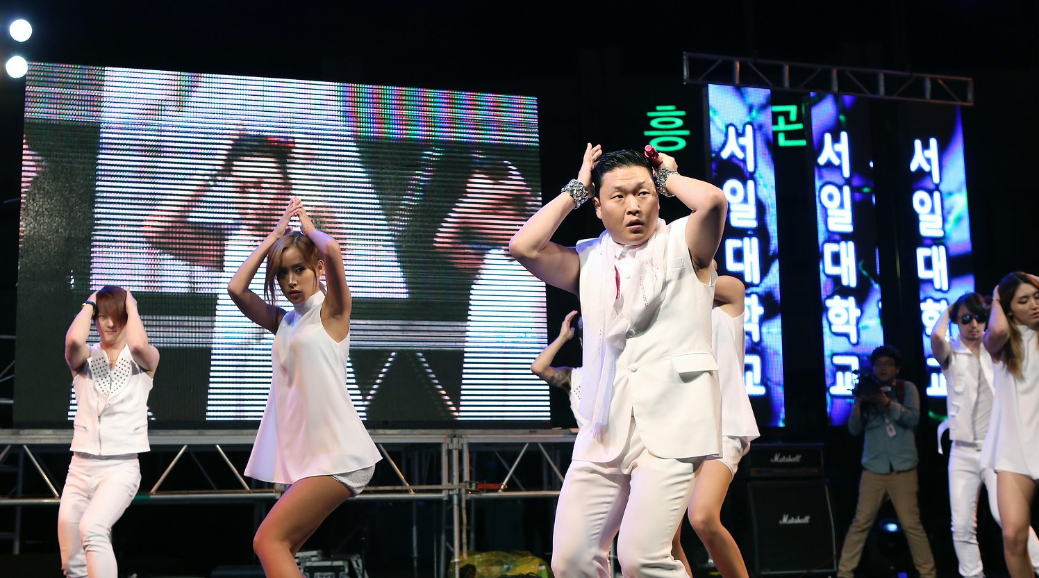 Korean pop star Psy, an example of how foreign-language songs are a making waves globally