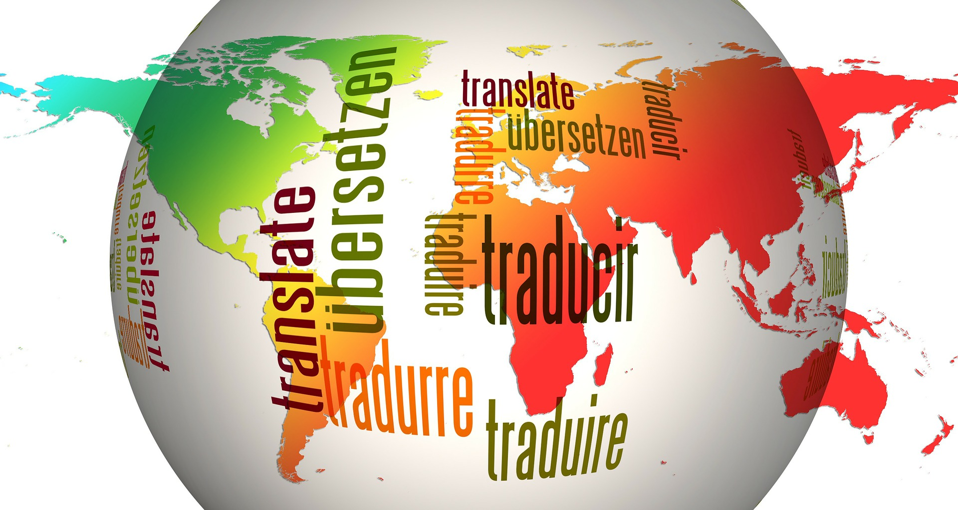 the word translation in multiple langages