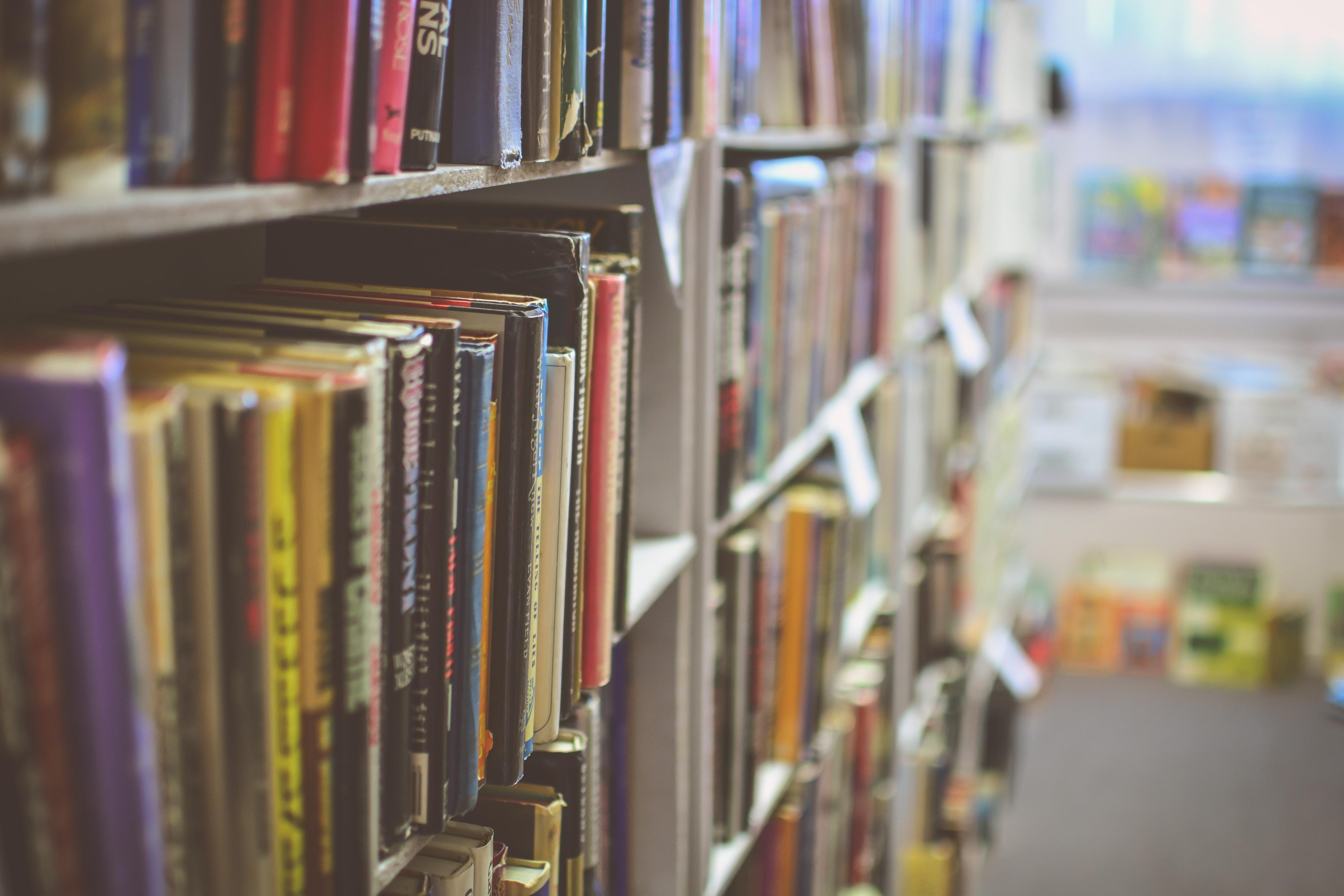 Image of a book shelf