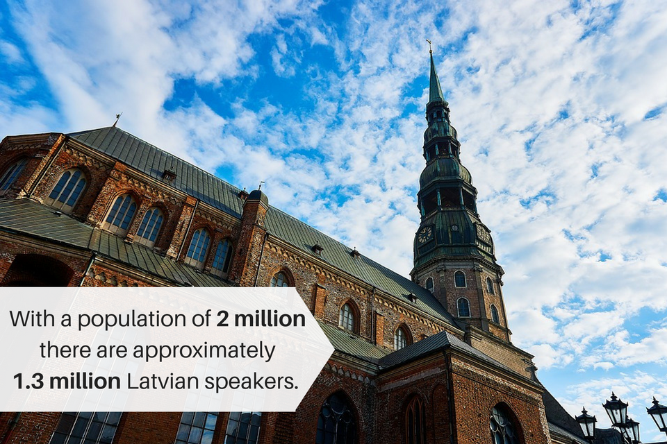 Stats about the Latvian language that explain the need for Latvian translation services