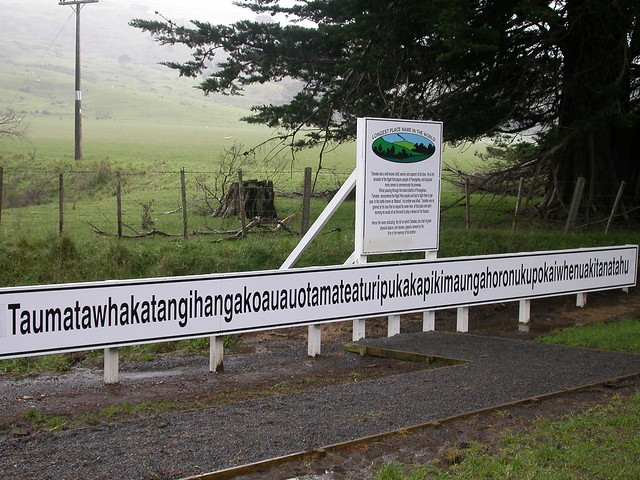 A Māori place name near Hawke's Bay, New Zealand.