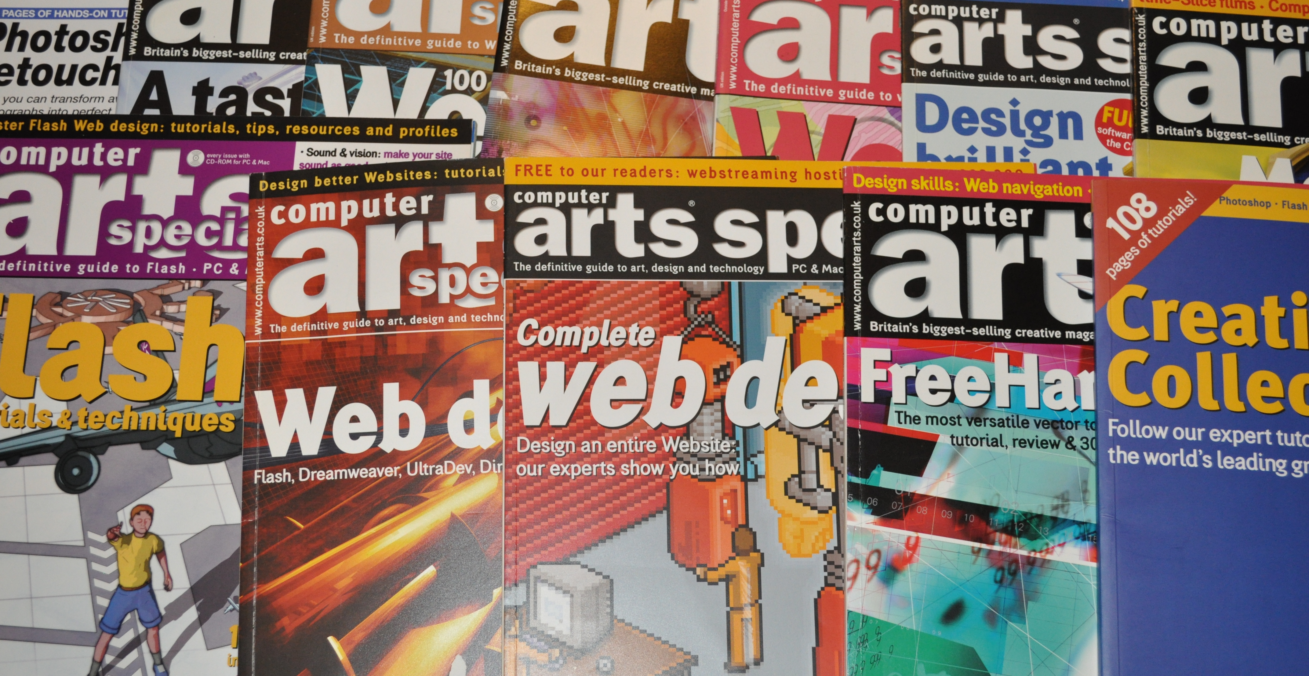 Multilingual DTP Services shown on a magazine