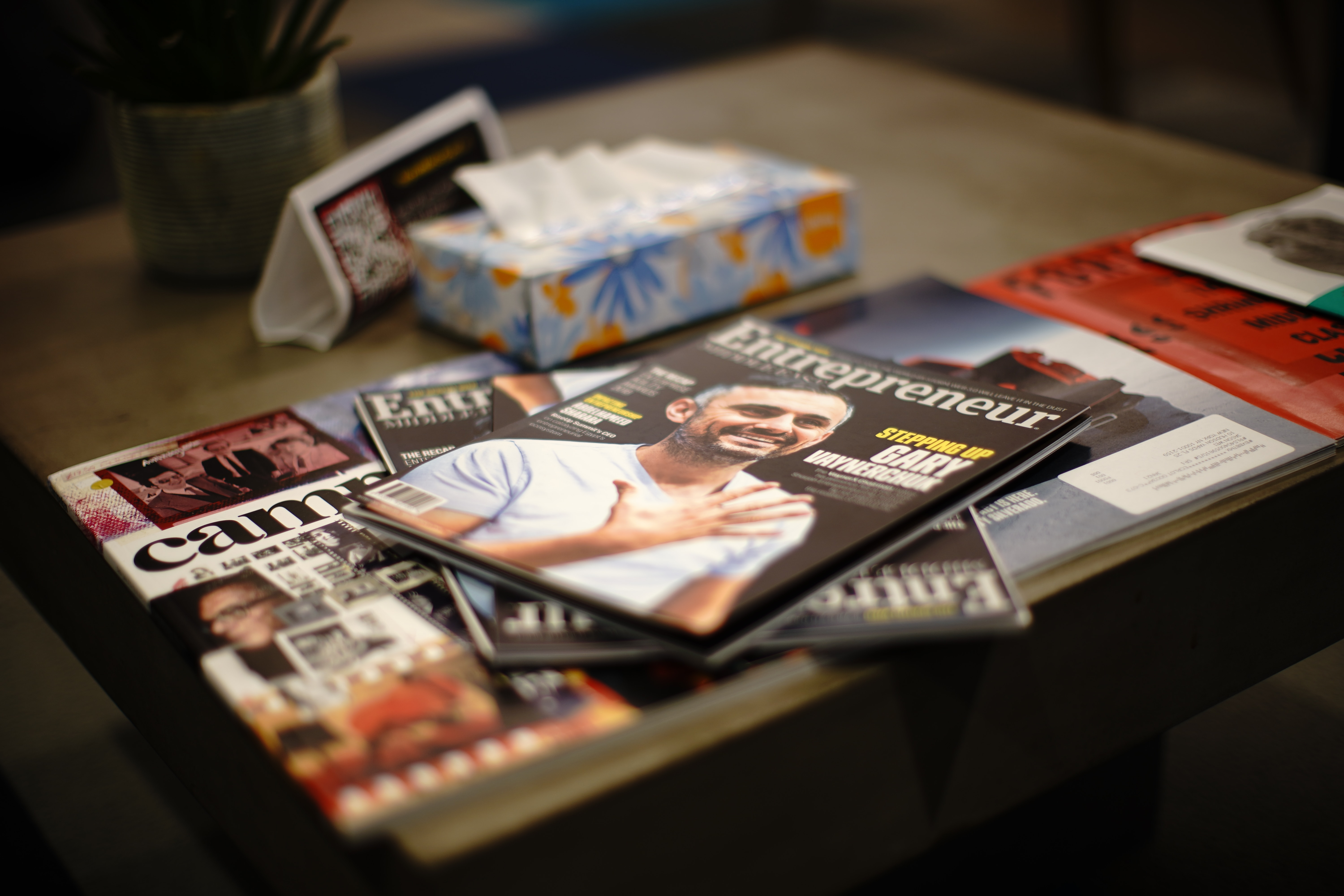 Print display ad revenue - for example in magazines - has seen an increase recently.
