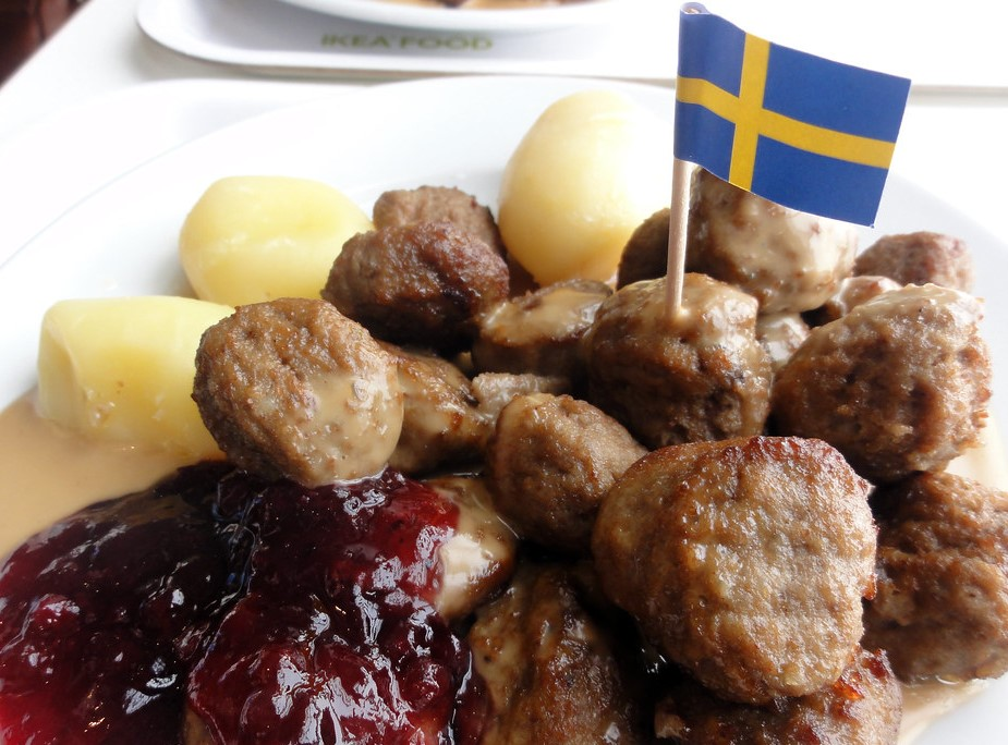IKEA's localisation strategy involves tweaking its menus