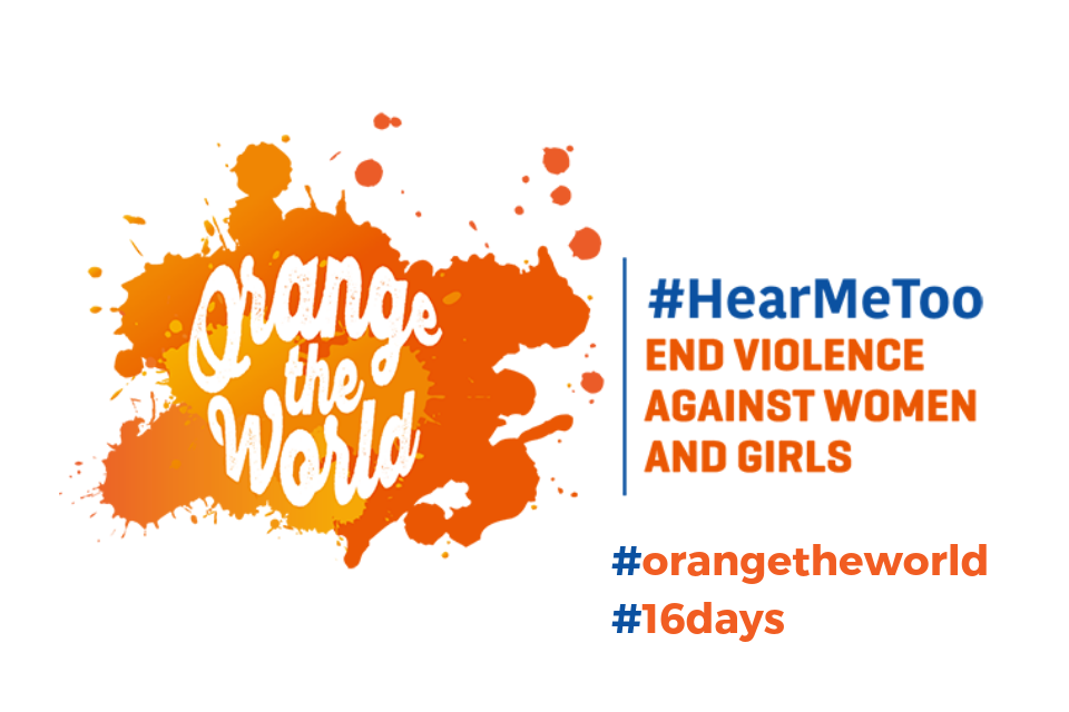 End violence against women and girls #HearMeToo