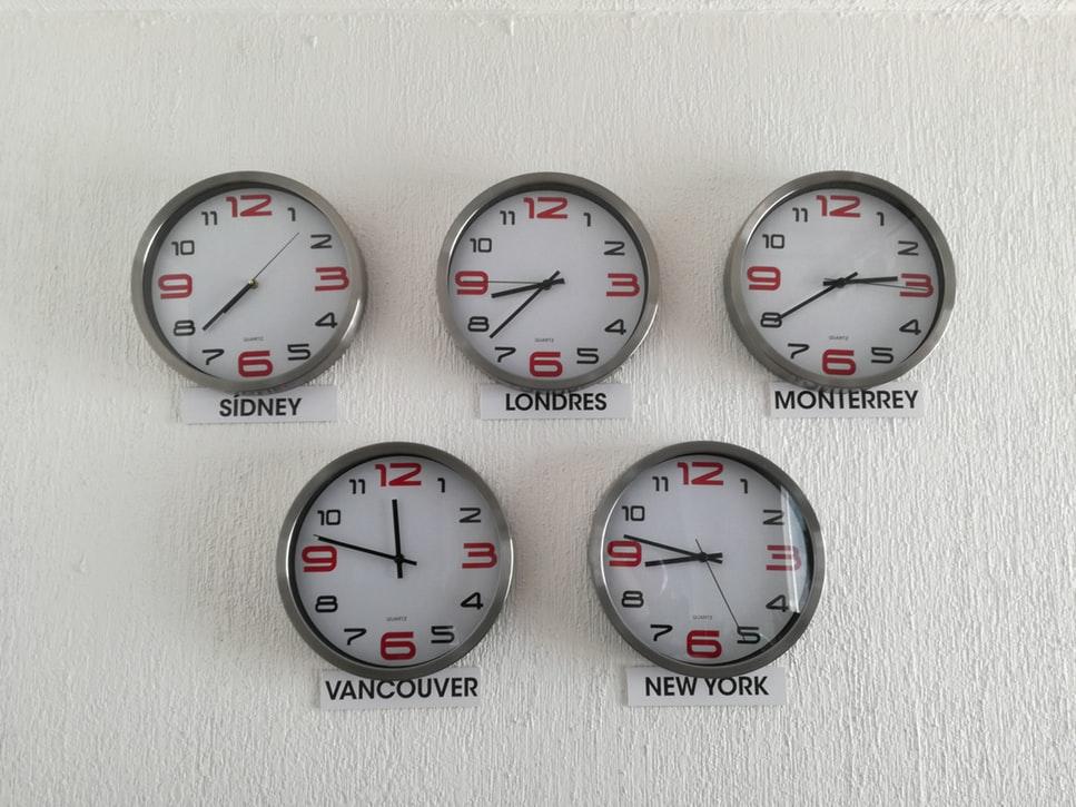 International clocks