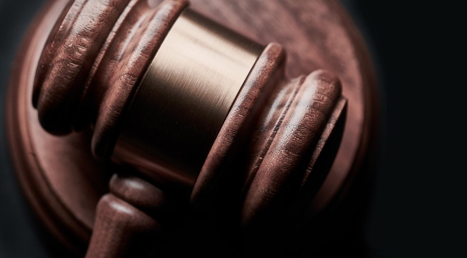 Lawyer's gavel