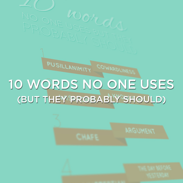 words-no-one-uses